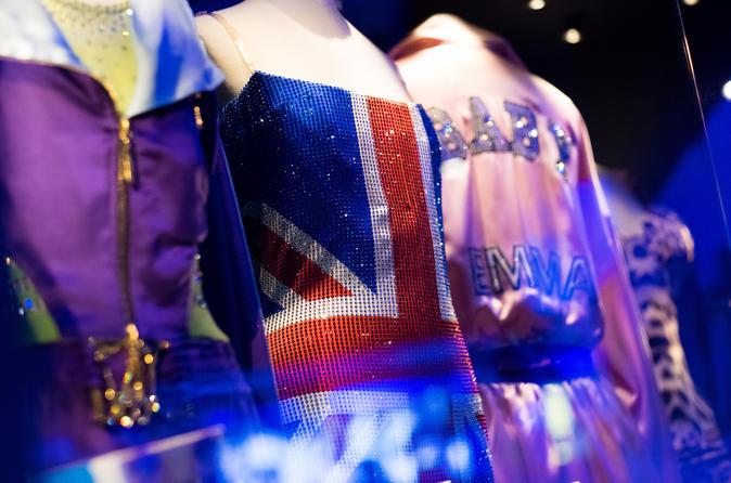Experiência com a Música Britânica: ingresso para o Museu Nacional de Música Popular