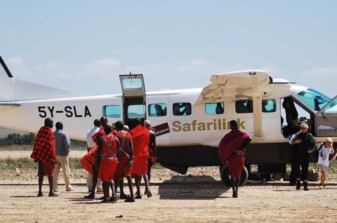 3DAYS MASAI MARA FLYING LUXURY LODGE SAFARI