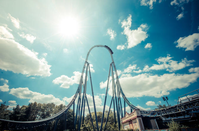 THORPE PARK Resort Admission Ticket with Meal Deal
