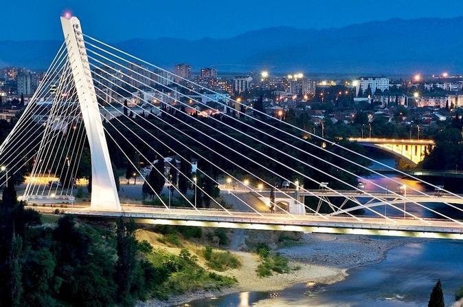 Podgorica city walking tour