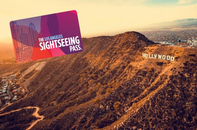 The Los Angeles Sightseeing Pass with 3, 4, or 5 Attractions