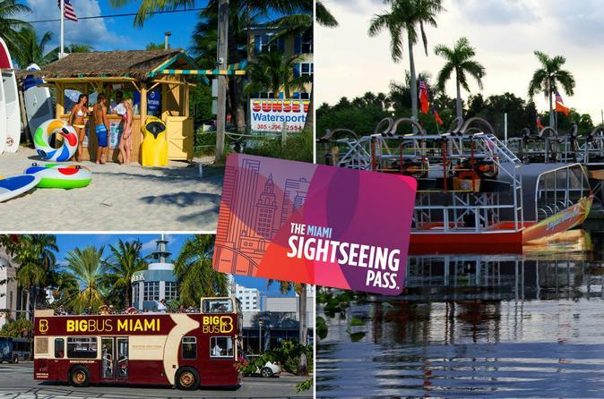 The Miami Sightseeing Flex Pass