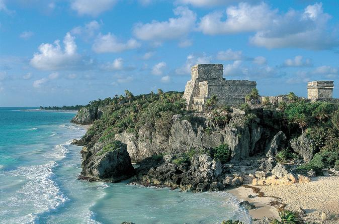 Full Day Tour Coba Cenote Choj Ha Tulum Paradise Beach From Playa Del Carmen
