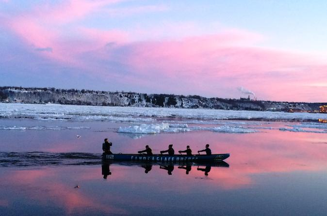Quebec City Ice Canoeing Excursion
