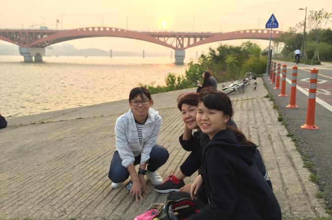 Moonlight Seoul Bike Tour with Chicken and Beer""
