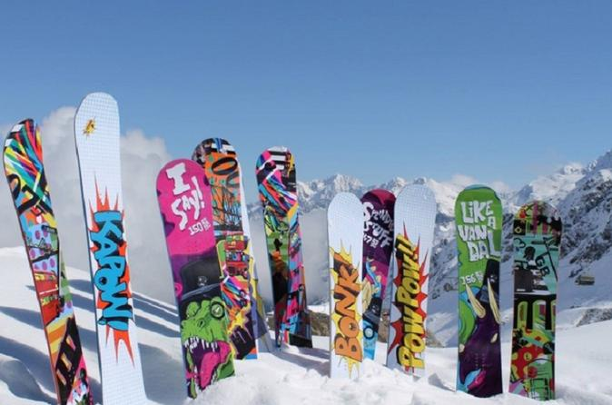 Banff performance snowboard rental including delivery in banff 415598