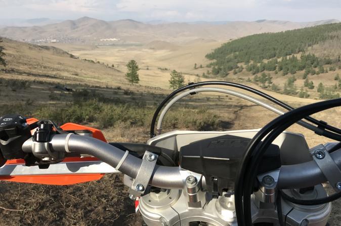 KTM EXC 500 MOTORBIKE RENTAL - Ulaanbaatar