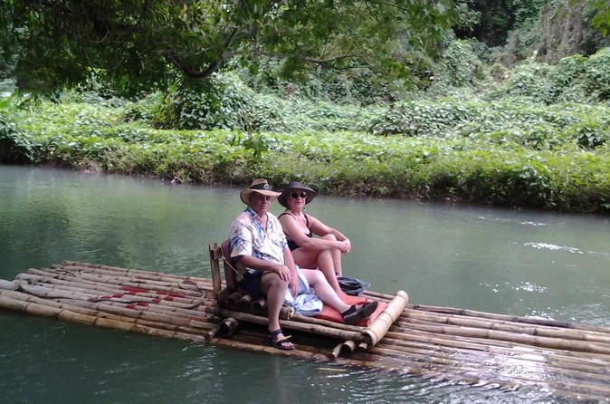 Falmouth Shore Excursion: White River Bamboo Raft, Dunn's River Falls