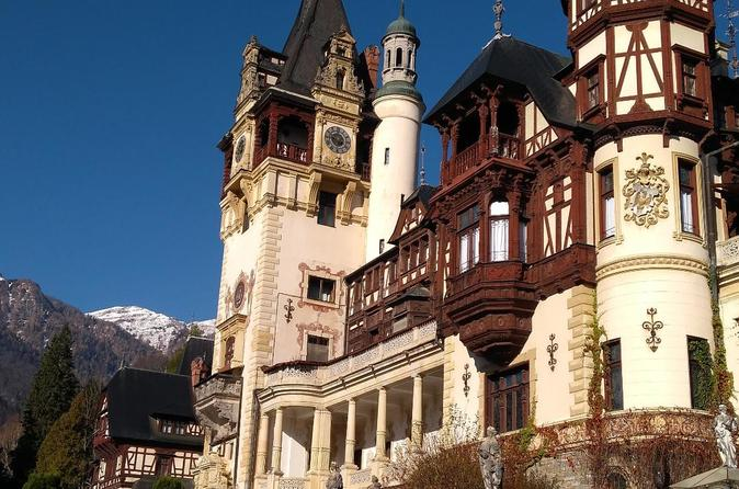 Day Tour From Brasov To Peles Castle, Bran Dracula Castle And Rasnov Fortress