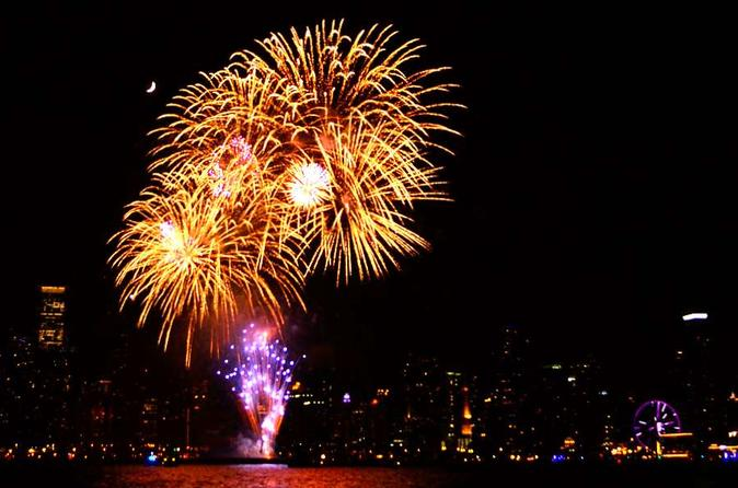 Private Navy Pier Fireworks Sail in Chicago