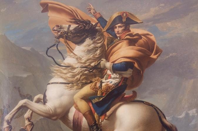 Napoleon, the Man and the Legend: Full-Day Tour Including Arc de Triomphe