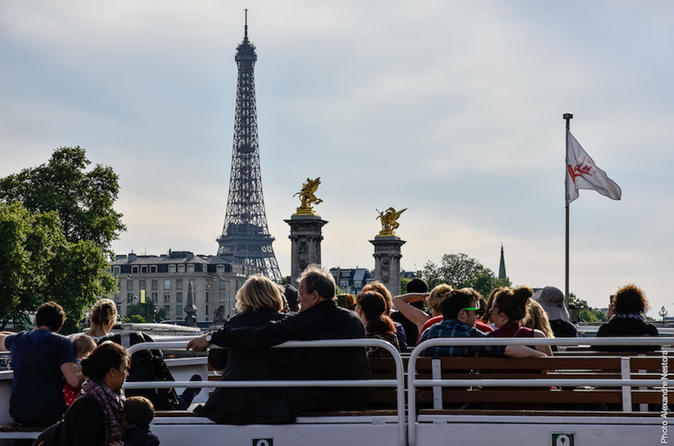 Paris in one day: Louvre, Notre Dame, St Chapelle, River Cruise & Eiffel Tower