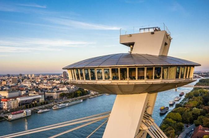 Bratislava Walking And Car Tour With Entry To UFO Observation Deck