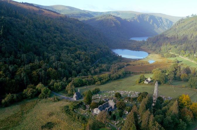 Glendalough Private Half-Day Tour From Dublin With Powerscourt Waterfall