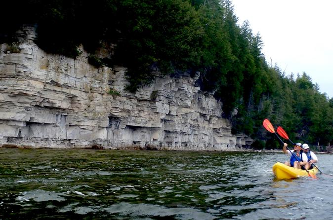 Door County Death's Door Bluff Kayak Tour