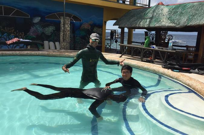 Full-Day AIDA 1 Freediver Course in Moalboal""