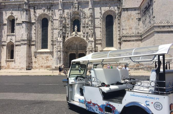 Private Tuk-Tuk City Tour of Lisbon - 3 hours Complete Tour