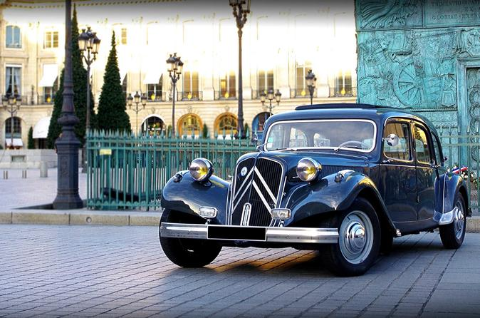 Vintage Private Tour: Classic French Citroën Paris