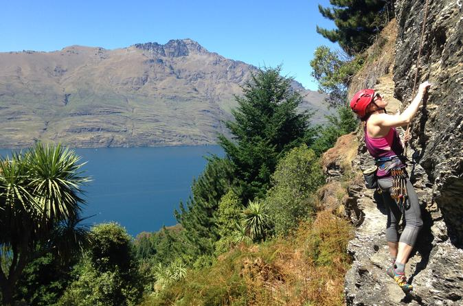 Queenstown Full Day Rock Climbing Small Group Guided Adventure
