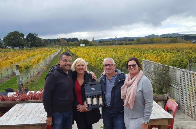 Wellington Shore Excursion: Martinborough Half Day Winery Tour