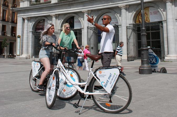 Premium Bike Tour of Madrid (2hr)