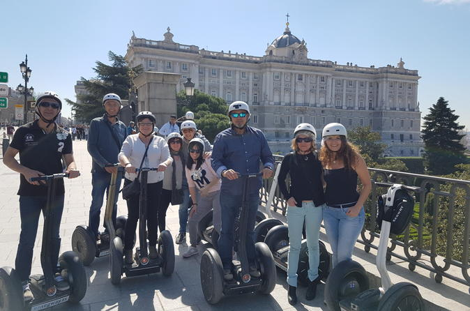 Premium Segway Tour of Madrid (2hr)