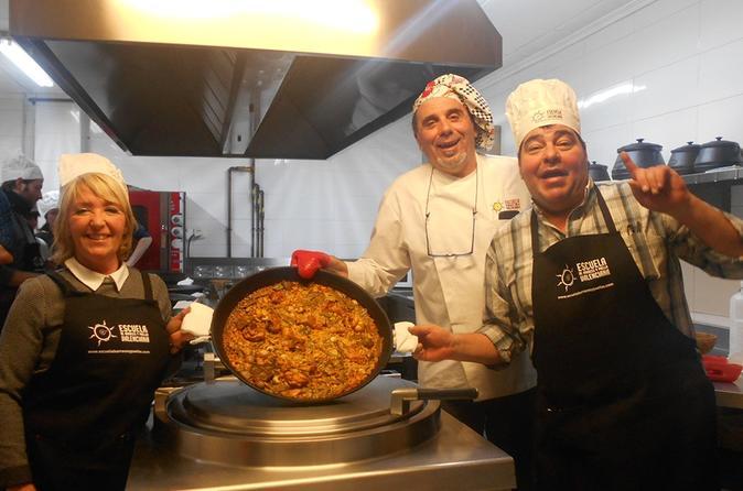 Cours De Cuisine De 3 Heures Et Paella Vegetarienne A Valence 2019
