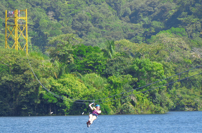 Full-Day Zipline and Kayak Private Group Tour from Panama City