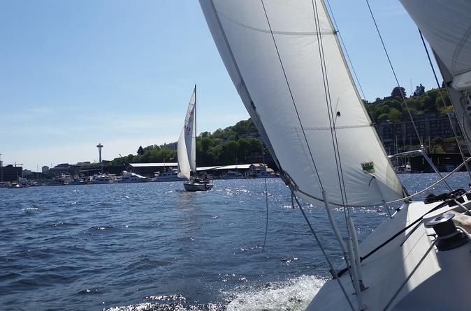 Seattle Sailing Lesson on Lake Union