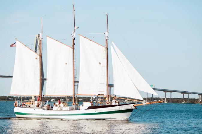 Schooner Sailing Cruise on Charleston Harbor