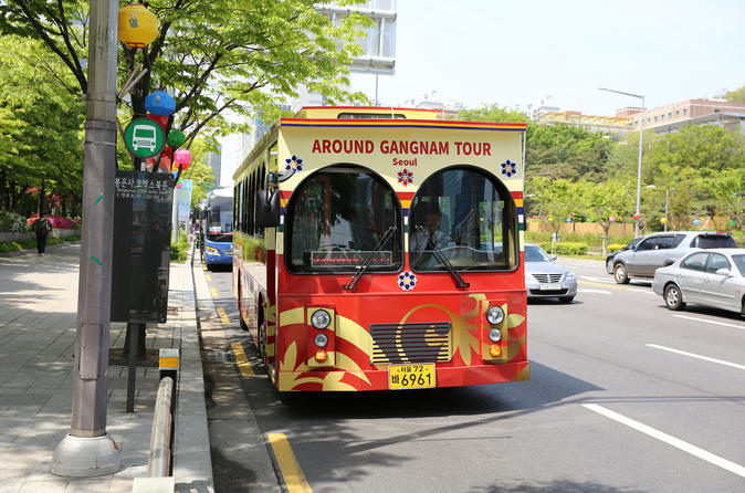 Hop-On Hop-Off Around Gangnam with Audio Guide""
