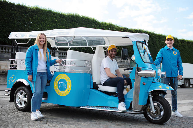 E-Tuktuk-Tour durch Paris