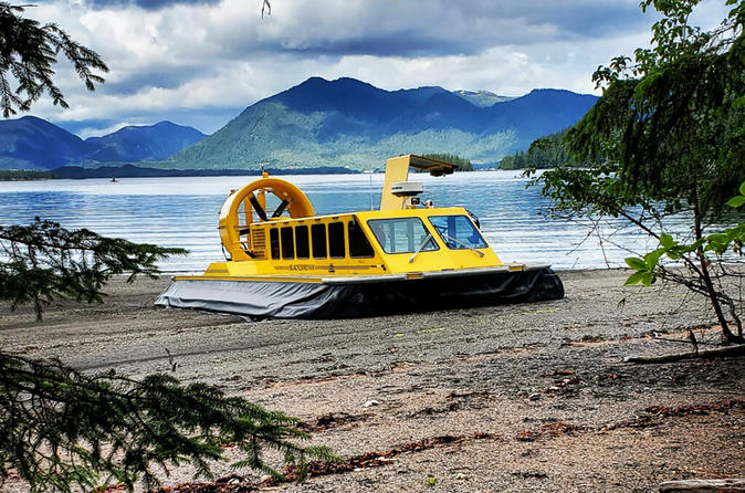 Hovercraft Eco Adventure & Wildlife Viewing 2018 - Ketchikan