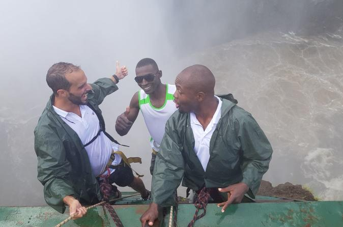 Abseiling With Guided Tour Of The Falls - Victoria Falls