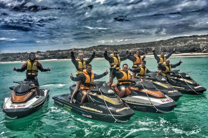 Hillarys Ocean Blast Jet Ski Tour 60-minutes - Perth