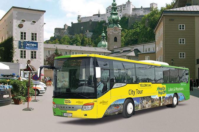 Hop-On Hop-Off City Tour Salzburg