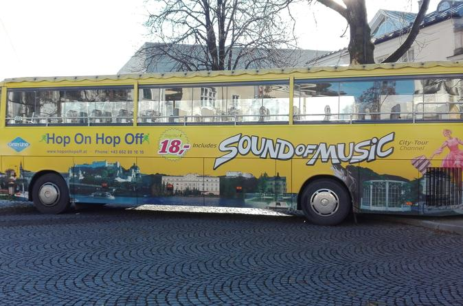 Hop-on-Hop-off-Stadttour in Salzburg