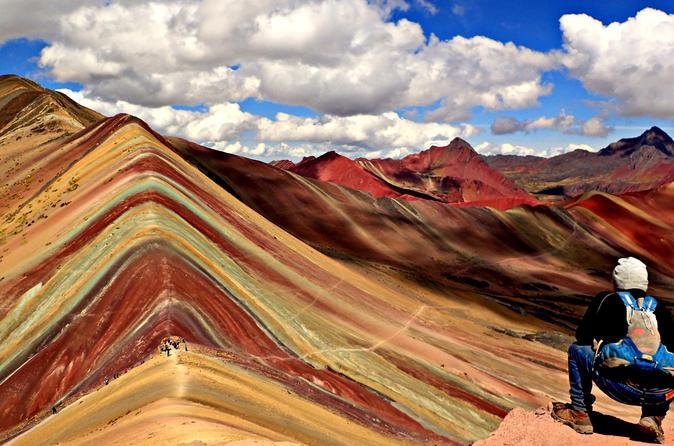 Viagem diurna à Montanha Arco-Íris, saindo de Cusco