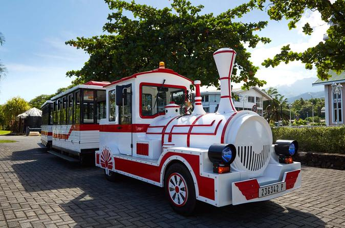 Papeete tour by little train in pape ete 443029