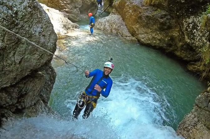 Exciting Half Day Canyoning Adventure In Soca Valley