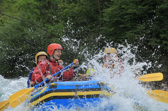 Full Day Adventure Package With Rafting And Canyoning