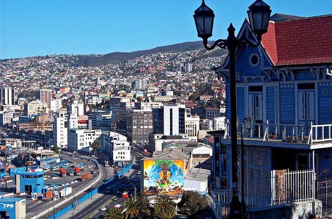 Valparaiso, Viña del Mar, and Santiago City Tour starting in San Antonio