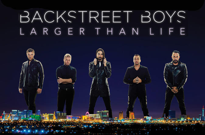 Backstreet boys with meet and greet option at planet hollywood 2018 backstreet boys with meet and greet upgrade at planet hollywood in las vegas m4hsunfo