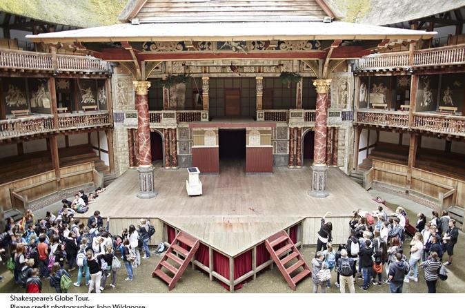 Excursão ao Globe Theatre e exposição sobre Shakespeare com Chá da tarde opcional