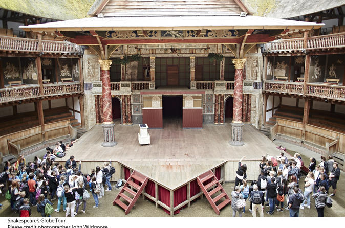 Shakespeare's Globe Theatre Tour and Exhibition with Optional Afternoon Tea