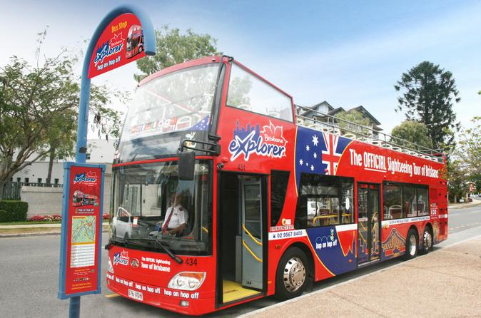 Brisbane Hop-on Hop-off Bus Tour
