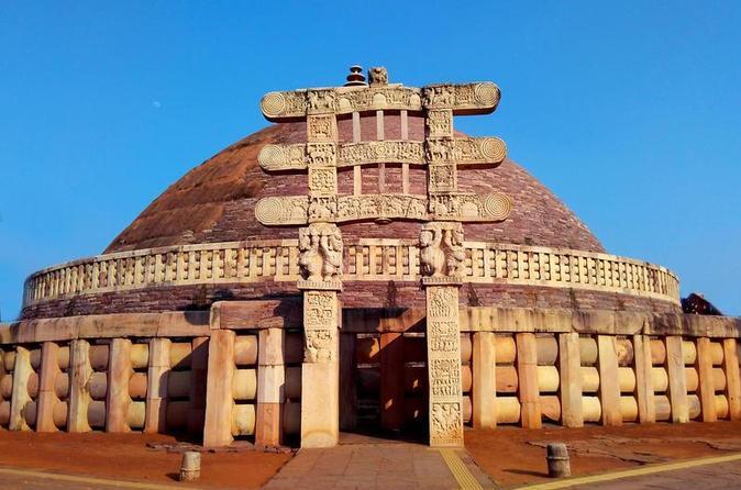 Day Trip to Sanchi Stupa & Vidisha from Bhopal