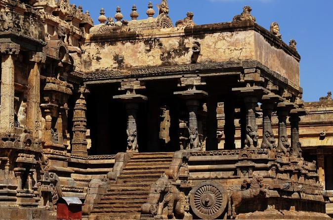 Private Guided Tour Of Airavatesvara Temple From Kumbakonam With Lunch - Thanjavur