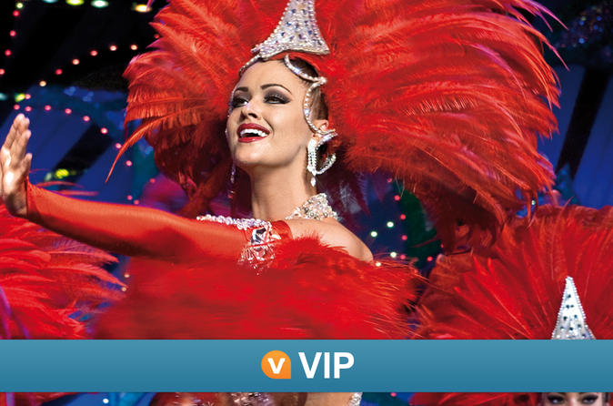 Viator VIP: Moulin Rouge Show with Exclusive VIP Seating and 3-Course Dinner