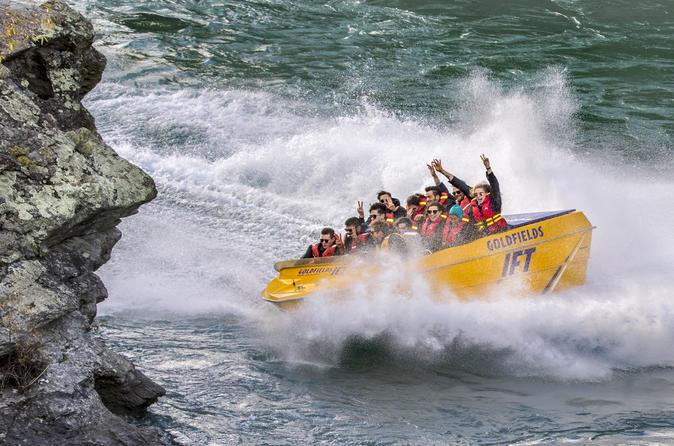 Goldfields Jet Boat Ride from Cromwell